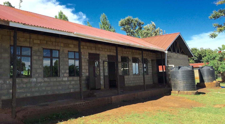 Kiryowa Classrooms exterior